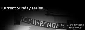 No Surrender Web Slider